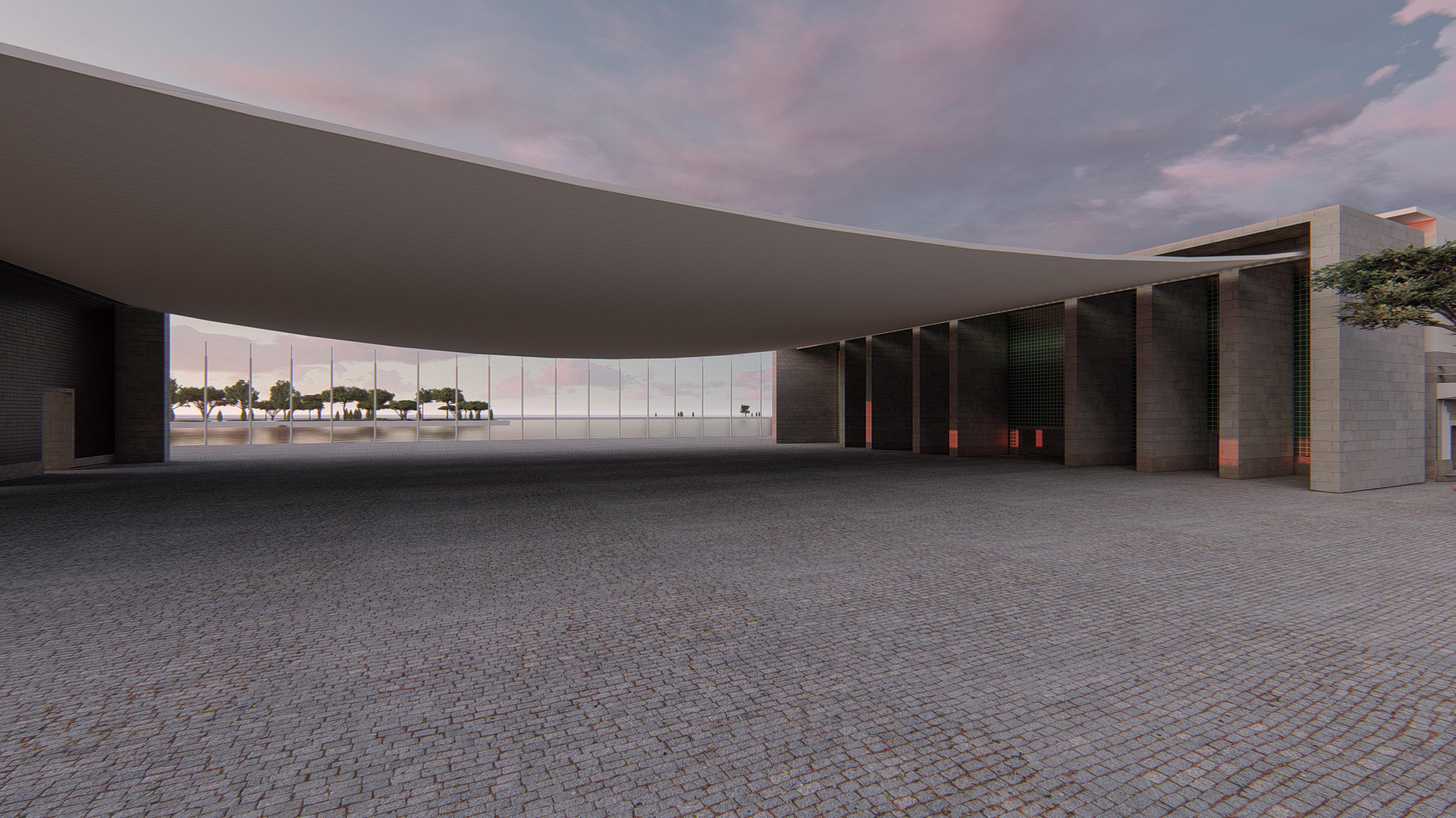 Pavilion 3d Rendering Foto, Profesionelle 3d rendering in Wien
