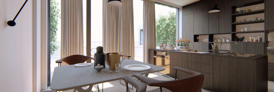 3D Visualisierung, Projekt 3D Rendering Wien, Innenvisualisierung und Architekturvisualisierung.